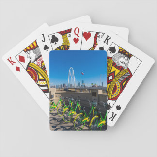 Bicycles And Dallas Playing Cards