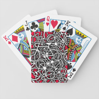 Bicycles, Bicycles, Lotsa Bicycles Playing Cards