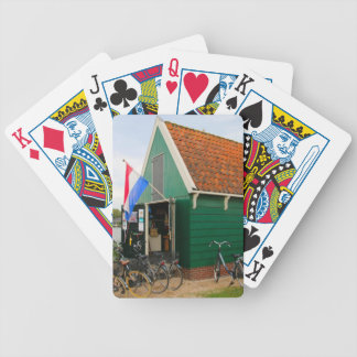 Bicycles, Dutch windmill village, Holland Bicycle Playing Cards