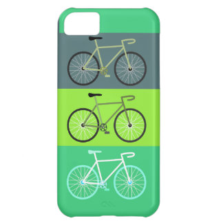 Bicycles Green Case For iPhone 5C