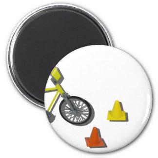 BicycleTrafficCones100711 Magnet