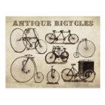Bicyclettes antiques (vélos sur rail)