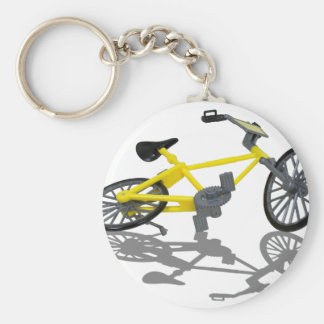 BicycleViewFromBelow112010 Basic Round Button Keychain