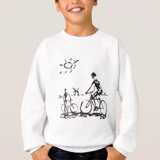 Bicycling Bike Sketch Sweatshirt