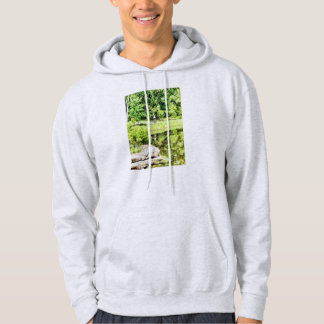 Bicycling by the Lake Hoodie