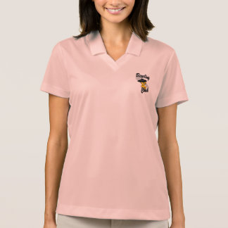 Bicycling Chick #4 Polo Shirts