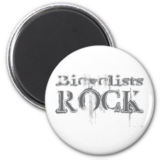 Bicyclists Rock Magnet