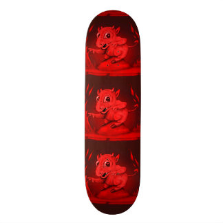 BIDI ALIEN DEVIL CARTOON Skateboard 8½""