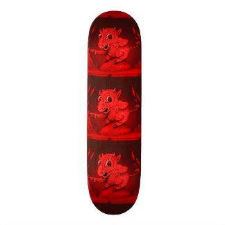 "BIDI ALIEN DEVIL CARTOON Skateboard 8 1/8"""