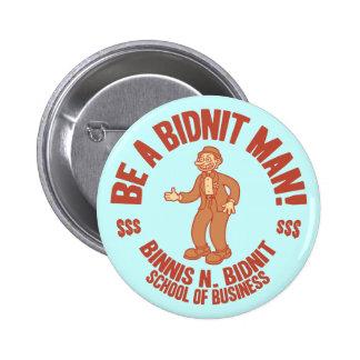 Bidnit School Pinback Buttons