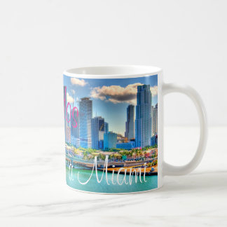 Bienvenidos a Miami Coffee Mug