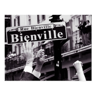 Bienville! Postcard