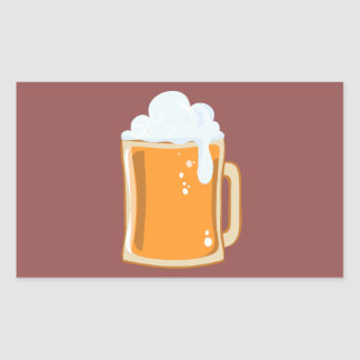 Bier beer sticker