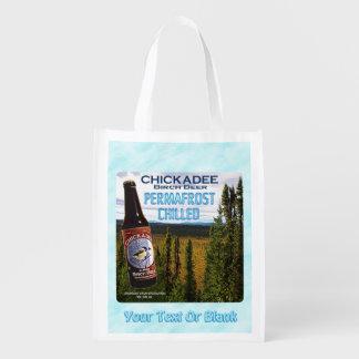 Bière de bouleau de Chickadee Sac Réutilisable