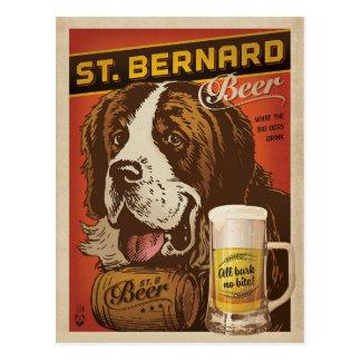 Bière de St Bernard Carte Postale