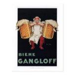 Biere Gangloff 2 Postcards