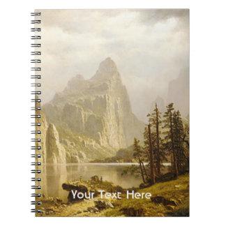 Bierstadt Albert Merced River Yosemite Valley Spiral Notebooks