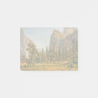 Bierstadt Bridal Veil Falls, Yosemite Valley Post-it Notes