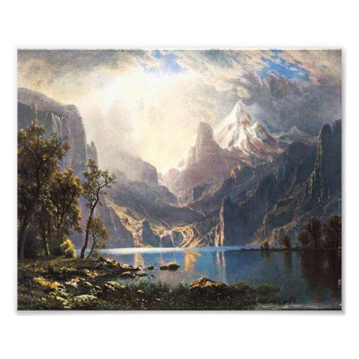 Bierstadt Lake Tahoe Photograph