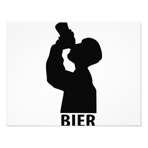 Biertrinker icon personalized announcements