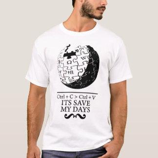 biet : wikipedia Save my Days T-Shirt