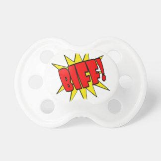 Biff Cartoon SFX Pacifier