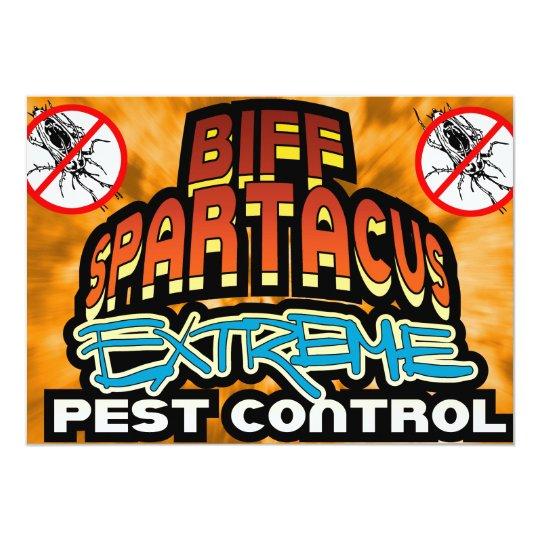 Biff Spartacus - Platinum Studios Card