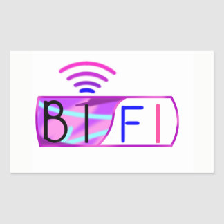 Bifi Bisexual pride Sticker