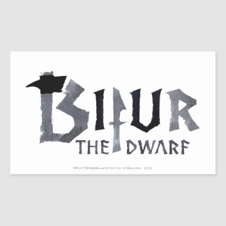 Bifur Name Rectangle Stickers