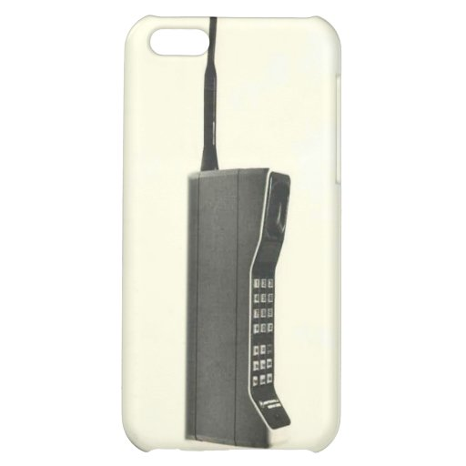 BIG 1980s STYLE CELL PHONE iPhone Case iPhone 5C Cover