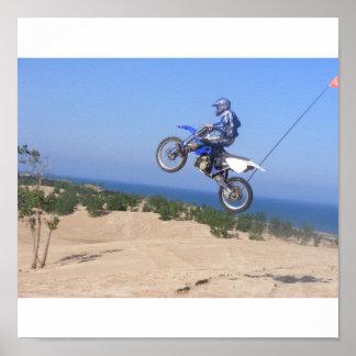 big air dirt bike poster