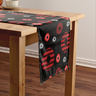 Big and Small Orbits Short Table Runner