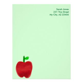 Big Apple Letterhead