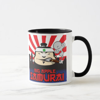 Big Apple Samurai Mug