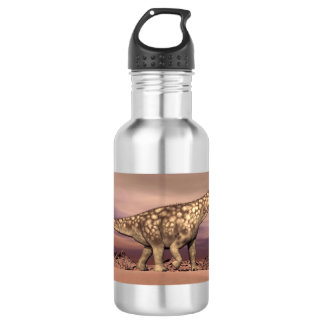 Big argentinosaurus dinosaur walking quietly in th 532 ml water bottle