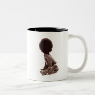 Big Baby Two-Tone Coffee Mug