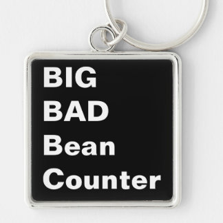 BIG BAD BEANCOUNTER - Financial Director Nickname Keychain