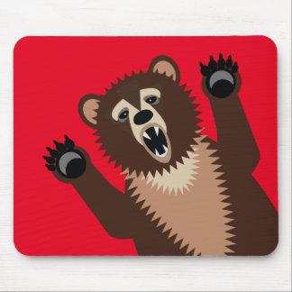 Big Bad Bear Says Boo Mouse Pad