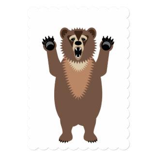 """Big Bad Birthday Bear 5"""" X 7"""" Invitation Card"""