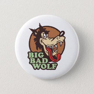 Big Bad Wolf 2 Inch Round Button