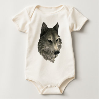 Big Bad Wolf Baby Bodysuit