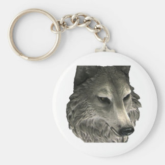 Big Bad Wolf Basic Round Button Keychain