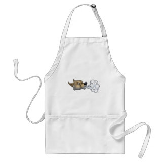 Big Bad Wolf Blowing Standard Apron