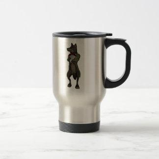 Big Bad Wolf Personalized Travel Mug