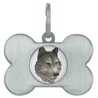Big Bad Wolf Pet ID Tag