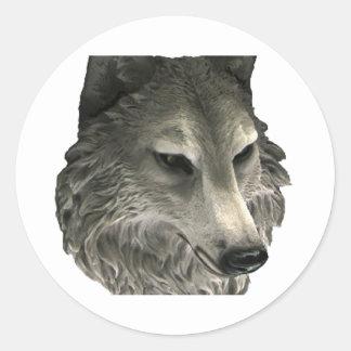 Big Bad Wolf Round Sticker