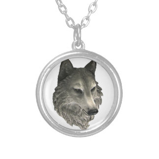 Big Bad Wolf Silver Plated Necklace
