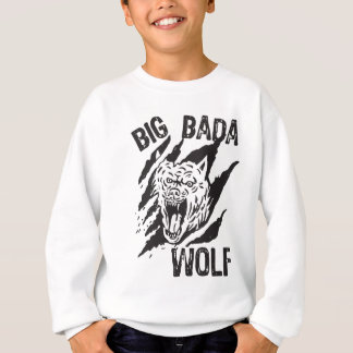 Big Bada Wolf Paw Scratches Sweatshirt