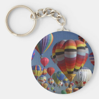 BIG BALLOONS by SHARON SHARPE Basic Round Button Keychain