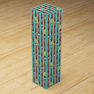 Big Bamboo - Aqua - Wine Box